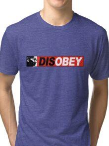 DISOBEY 2 Tri-blend T-Shirt