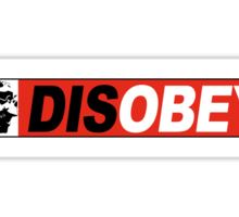 DISOBEY 2 Sticker