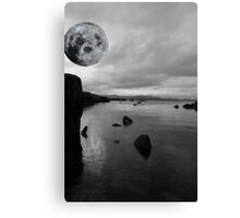kerry black and white night view Canvas Print