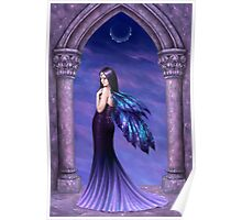 Mystique Galaxy Wing Fairy Poster
