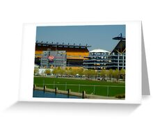 Lets go Steelers Greeting Card
