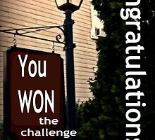 Banner for Challenge - You Won The Challenge by Jane Neill-Hancock