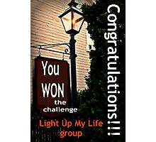 Banner for Challenge - You Won The Challenge Photographic Print