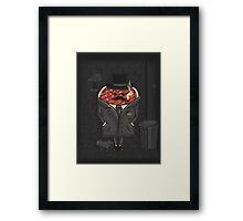 Steakout Framed Print