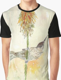 Amethyst Sunbird female Graphic T-Shirt