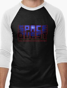Space Quest Pixel Style - Retro DOS game fan items Men's Baseball ¾ T-Shirt