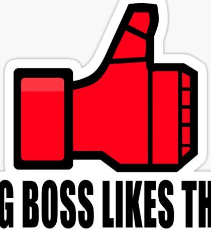 Big Boss likes this Sticker