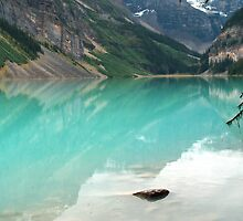 Lake Louise Banff by World Images Art