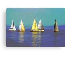 We Are Sailing Canvas Print