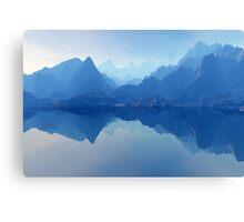 Blue Bryce Landscape Canvas Print