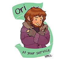Ori at Your Service Photographic Print