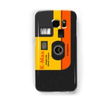 Disposable Camera - K-Max Samsung Galaxy Case/Skin