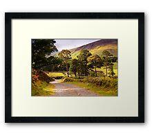 Celtic Spirit. Wicklow Mountains. Ireland Framed Print