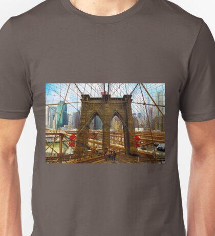 New York. Brooklyn Bridge Unisex T-Shirt