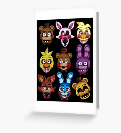 Five Nights Greeting Card
