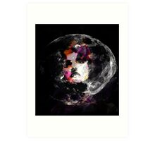 Astronaut Woman Raw Contemporary Art   Art Print