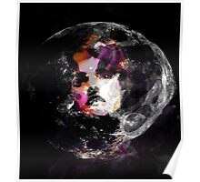 Astronaut Woman Raw Contemporary Art   Poster
