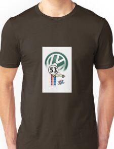 53 THE LOVE BUG CAR VW beatle Unisex T-Shirt