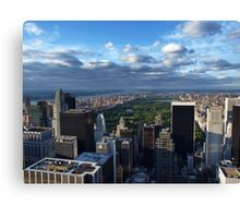 NYC: Central Park Canvas Print