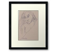 Elf 06 Framed Print