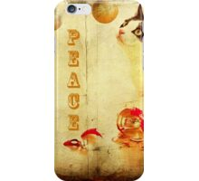 Peace and joy to all this holiday season ... iPhone Case/Skin