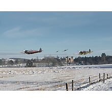 Spitfire - Home is the Hunter Photographic Print