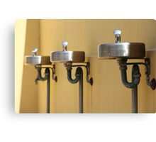 Not-so-red bubblers Canvas Print