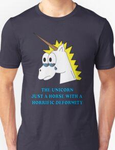 DEFORMED UNICORN Unisex T-Shirt