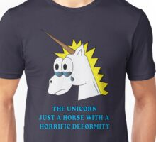 DEFORMED UNICORN Unisex T-Shirt