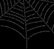 Web of Lies Sticker