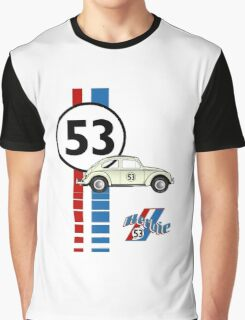 Herbie 53 VW bug beetle Graphic T-Shirt