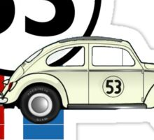 53 VW bug beetle bug Sticker