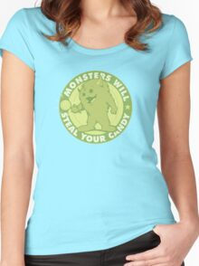 Candy Monster Women's Fitted Scoop T-Shirt