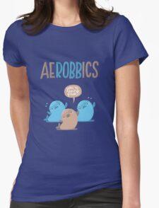 Aerobbics - Sporty Seals Womens Fitted T-Shirt