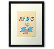 Aerobbics - Sporty Seals Framed Print