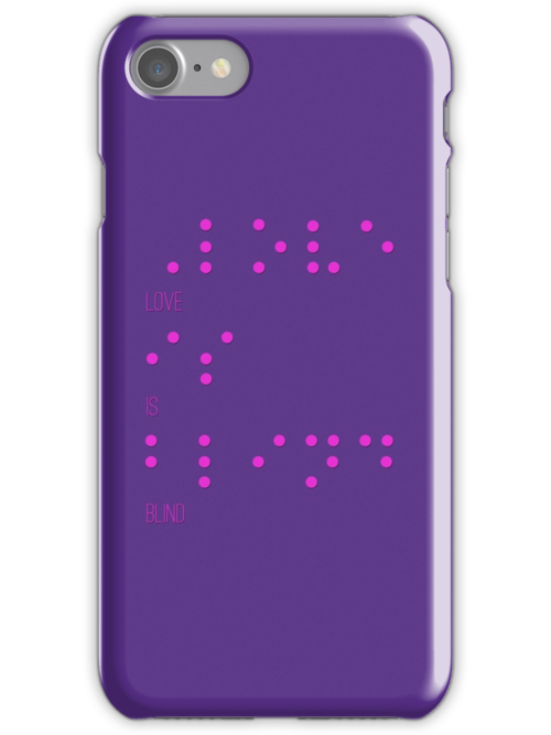 Love is blind (Braille) by TenTimesKarma