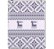 Knit pattern iPad Case/Skin