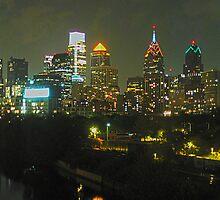 Philadelphia Skyline Panorama - Photo by John Brady