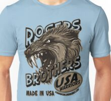 wolf usa warriors by rogers bros T-Shirt