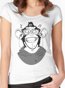 Hear No Evil Women's Fitted Scoop T-Shirt