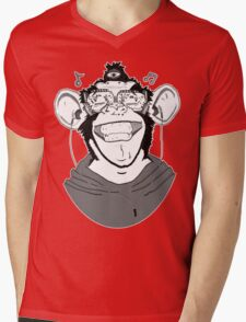 Hear No Evil Mens V-Neck T-Shirt
