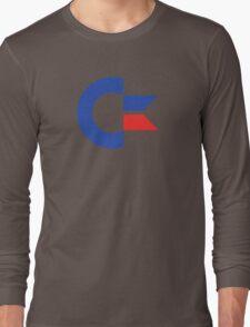 Commodore C64 Retro Classic Symbol Long Sleeve T-Shirt