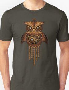 Steampunk Owl Vintage Style Unisex T-Shirt