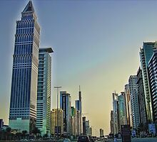 Sheikh Zayed Road by Omar Dakhane