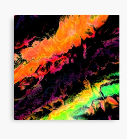 psychedelic j Canvas Print