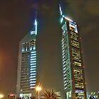 Emirates Towers (EL MAKTOM) by Omar Dakhane