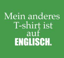 Ich spreche Deutsch T-Shirt