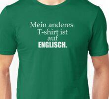 Ich spreche Deutsch Unisex T-Shirt