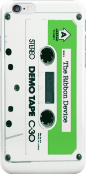 The Ribbon Device Demo Cassette (comic) by Mat Creedon