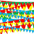 Circus Bunting by partycraft